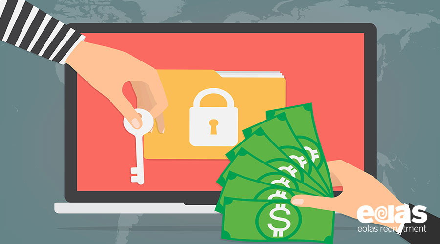 Ransomware attacks push up demand for IT security skills